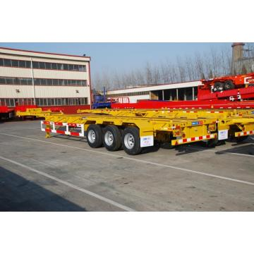 40 'Tri-axle Gooseneck Skeletal Semi-Trailer