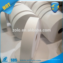 Fábrica preço barato rolo de rolo auto-adesiva auto-suficiente em branco vinil rolos de vinil atacado