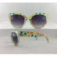 Lunettes de soleil nouvelle femme Fashion Injection avec lentille acrylique P02010