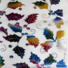 Printed Embroidered Organdy for Decoration
