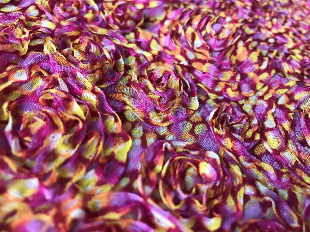 tape embroidery dyed printing fabric