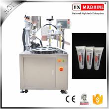 Machine de remplissage et de cachetage de tube cosmétique semi automatique de crème de main / crème hydratante