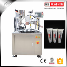 Hand Lotion/Moisturizer Semi Automatic Cosmetic Tube Filling And Sealing Machine