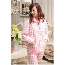 Wholesale Cheap femme chaud pyjama costume pendant hiver Homewear