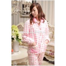 Wholesale Cheap Women Warm Pajamas Suit for Winter Homewear