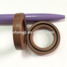 Hydraulic cylinder arm oil seals