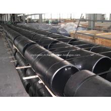 Raccords de tuyauterie en T en acier au carbone