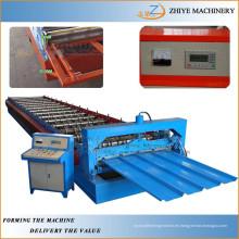 De hierro corrugado de aluminio Trapezoidal Galvanizado Paneles de techos Roll formando la máquina