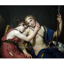 100% handgemalte Großhandelsfrauen-nackte Malerei auf Segeltuch Ebf-026