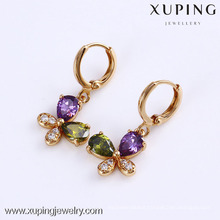 24744 Xuping Jewelry 18K Gold Plated Hot Sale Fashion Earring