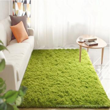 alfombra peluda de pared a pared de diseño moderno para sala de estar