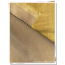 Tissu de manteau en sergé de coton polyester