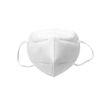 Masque de protection 3D jetable blanc Earloop KN95