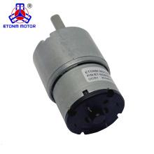 Motor de 10 cm cc 12 v cc con reducción de engranaje