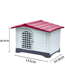 pet carrier cage dog house indoor outdoor pet dog store display cages, carriers & houses
