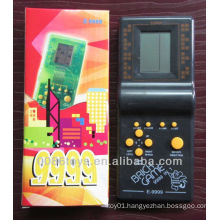 HIPS Black Color 9999 in 1 Brick Game