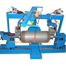 Machine à souder de soudure circonférentielle à double torche horizontale