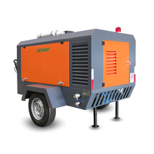 End of Year SALE 7.5bar Germany Electric Mobile Air Compressor for Sandblasting