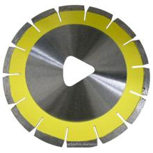 Lâmina de serra de diamante para construção trigonal para concreto verde