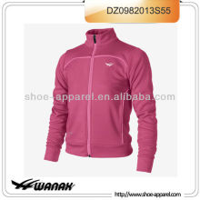 New fashion pink women track running jacket sample available