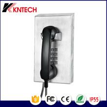 Edelstahl Notruf Telefon Knzd-10 Gefängnis Telefon Kntech