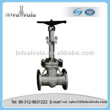 Válvula de porta cuniforme de haste levantada motorizada
