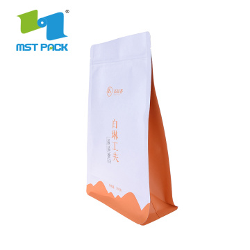 Doypack 100% Kitar Biodegradable Plastic Bag For Tea
