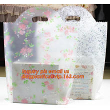 White Dots Transparent Frosted OPP Plastic Christmas Gift Bag Birthday Party Wedding Cookie Candy, Cone Shaped Cello Candy Bags