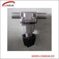 Válvula de control de diafragma de acero inoxidable sanitaria