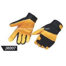 Promotional Pigskin Leather Mechanics Working Safe Protect Glove
