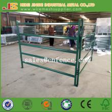 Green Powder Coated Metall Vieh Zaun Panel Pferd Zaun Panel Vieh Yard