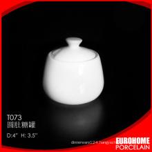 stock china supplies white crockery new fine bone china sugar pot