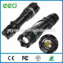 Lanterna tática, leds lanterna, lanterna LED Torch tocha lanterna recarregável