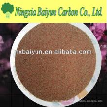Rhodolite garnet sand for sanblasting