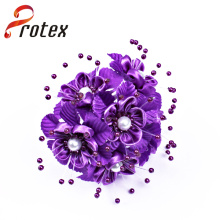 Popular Beautiful Elegant Purple Cheap Wholesale Artificial Flower Ornament