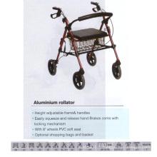 Rouleau en alliage d'aluminium avec siège