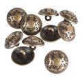 Fashion High-Grade Metal Button hiasan