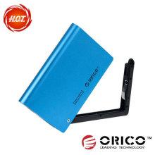"""Boîtier HDD externe SATA de 2,5 """"avec fonction d'inscription"""