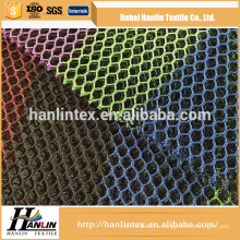 China Supplier High Quality polyester silver metallic mesh fabric