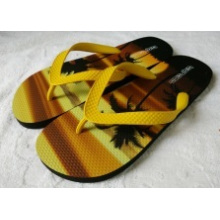 The Slipper with Customized PE+Transer Printing