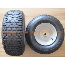 Gummi-Rad 6.50-8 Stahl Felge