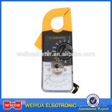 Medidor de abrazadera analógica Medidor analógico Abrazadera Multímetro Medidor de abrazadera Medidor de corriente portátil Medidor de corriente MG27B