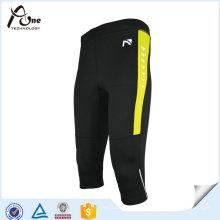 Mens Quick Dry 3/4 Sport Strumpfhosen Fitness Tragen Leggings
