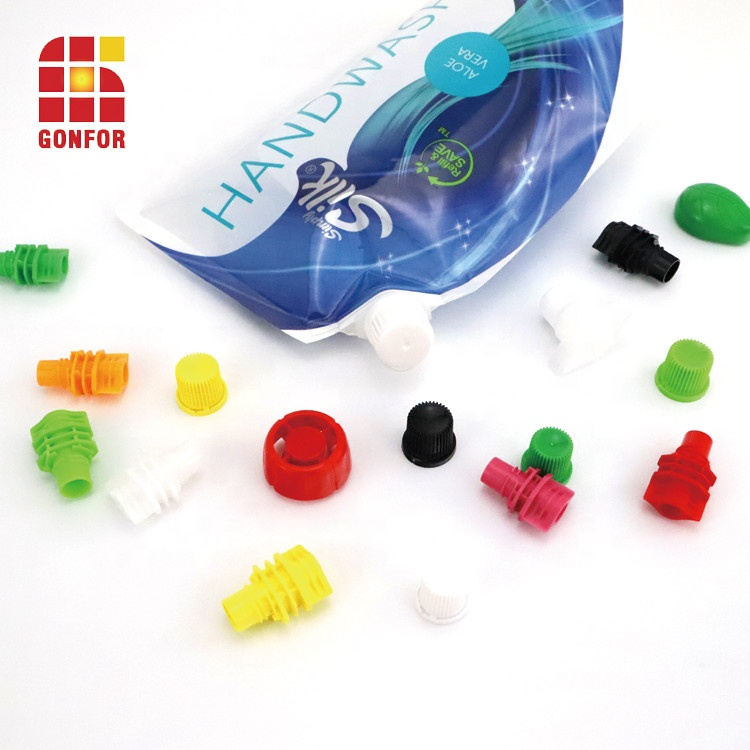 500ml Handwash Stand-up Spout Pouch Packaging bag (5)