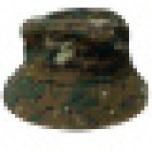 Chapeau à godet en tissu Camo (BT007)