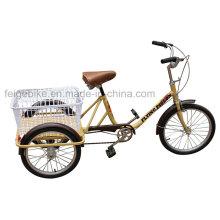 Triciclo de carga de tres ruedas barato y simple (FP-TRB023)