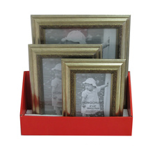 Conjunto de moldura fotográfica PS para decoração de casa