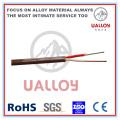 Câble de compensation de thermocouple isolé / tressé en PVC de type T