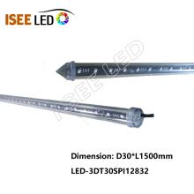 Hot sale SPI 3D LED vertical tube light