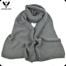 Männer Winter Warm Acryl Thick Knitted Schal